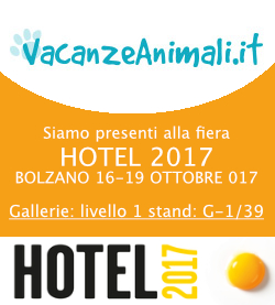 Vacanzeanimali.it ad HOTEL 2017