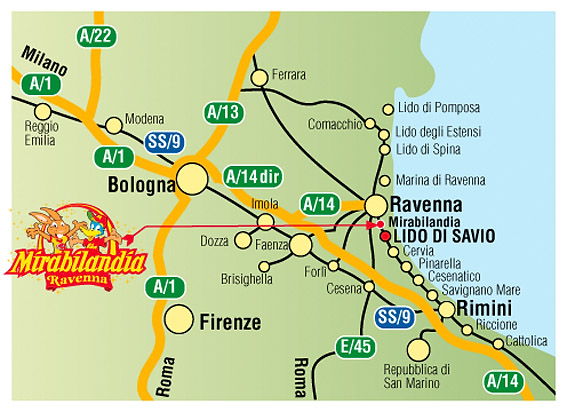 Hotel Saint Tropez Ravenna